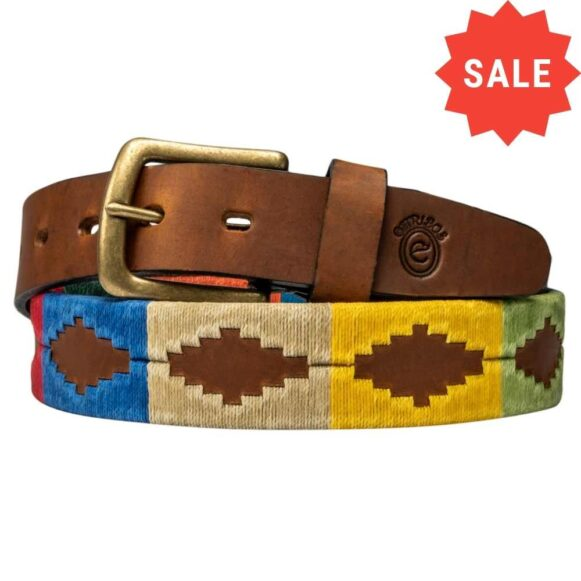 Sale Polo Belt - Handmade in Argentina