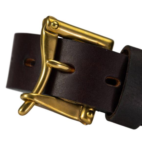 Brass Fireman's Q/R Belt Buckle