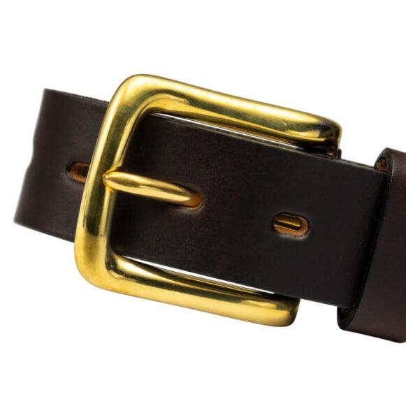 Brass Palermo West End Buckle 35mm 25mm