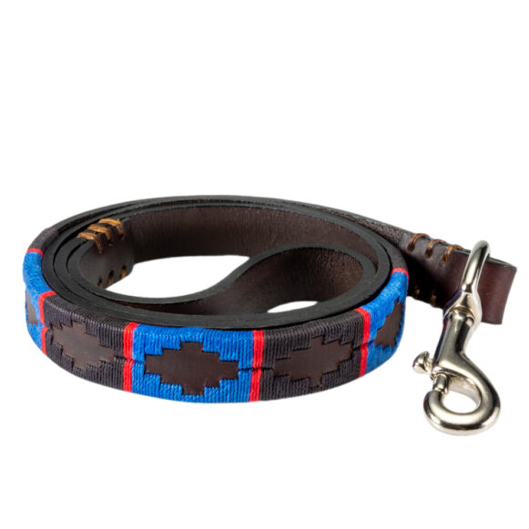 Genuine polo dog lead handmade in Argentina by Estribos