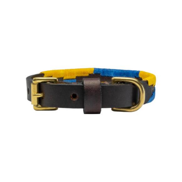 Matthew Hobden Trust Polo Dog CollarLead | Argentinian Gaucho Collar | Brass