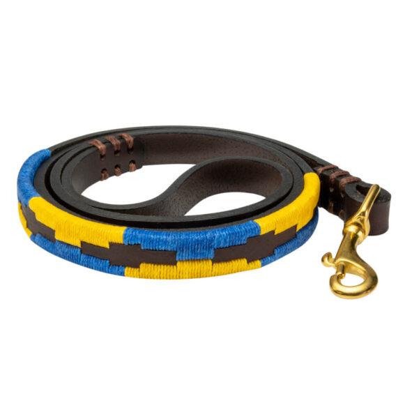Matthew Hobden Trust Polo Dog Lead | Argentinian Gaucho Collar | Brass