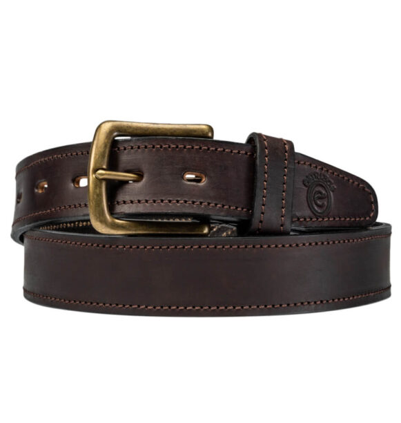 Brown Leather Belt - Argentinian plain Men's and Women's Belt