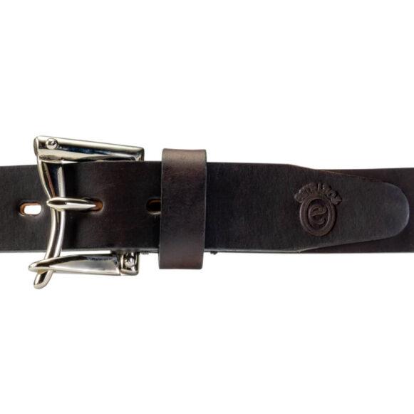 Nickel Fireman's Q/R Belt Buckle