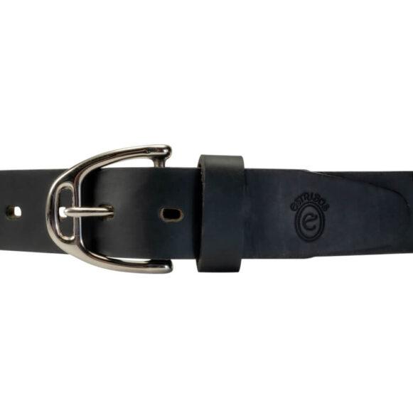 Nickel-plated Brass Stirrup Belt Buckle 25mm 35mm