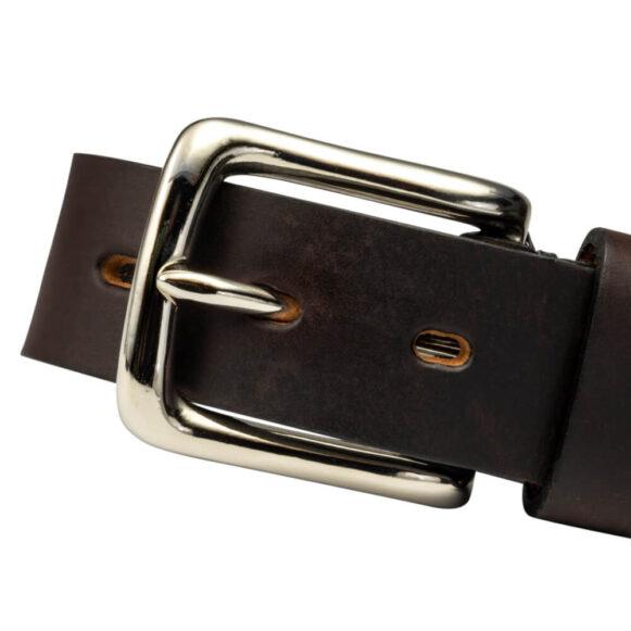 Nickel West End Belt Buckle 25mm 35mm
