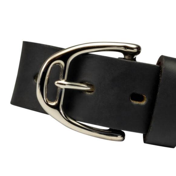 Nickel Stirrup Belt Buckle 25mm 35mm