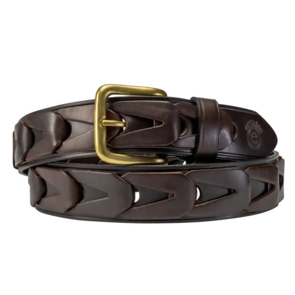Link Leather Belt - Unisex Argentinian Stirrup Leather
